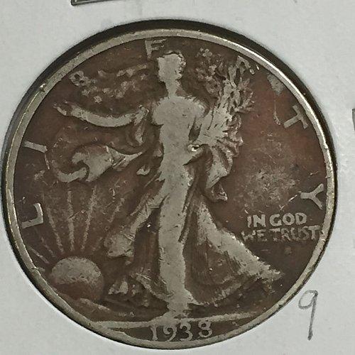 1938-P Walking Liberty Dollar (10014)