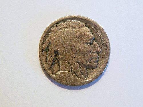 1918-D Buffalo Nickel