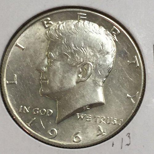 1964-D Kennedy Half Dollar (10023)