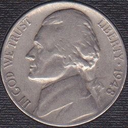 1948 P Jefferson Nickel