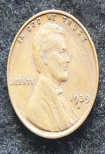 1939 S Lincoln Wheat Cent (VF-30)