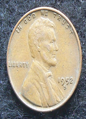 1952 S Lincoln Wheat Cent (VF-30)