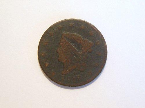 1818 Coronet Liberty Head Large Cent