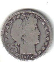 1906  D  BARBER HALF DOLLAR