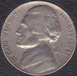 1941 P Jefferson Nickel