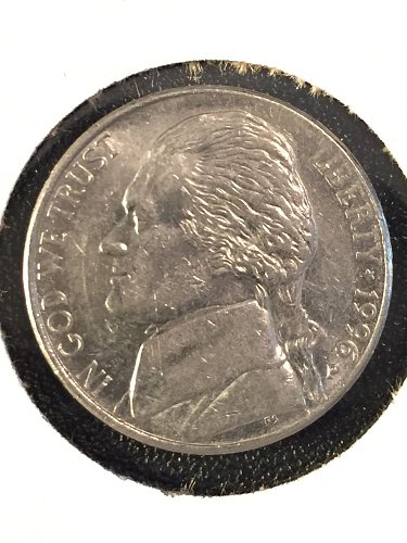 1996 P Jefferson Nickel