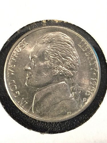 1996 D Jefferson Nickel