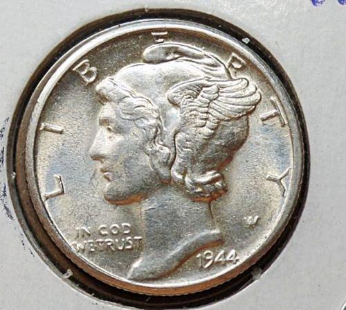 1944 D MERCURY DIME # 8047