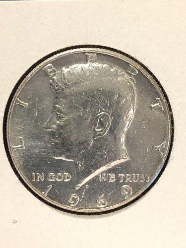1969 D Kennedy Half