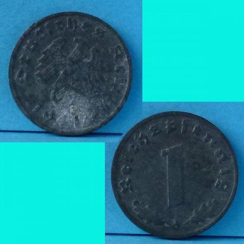 Germany 3rd Reich 1 Pfennig 1941A km 97