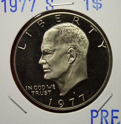 1977 S Eisenhower Dollar $1