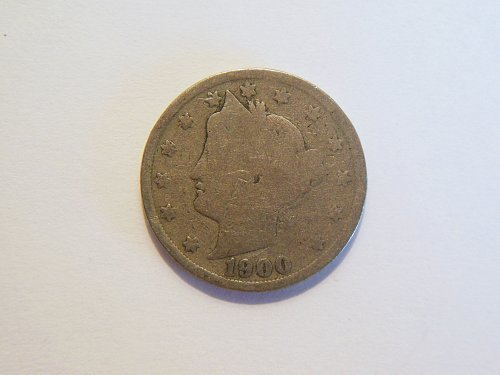 1900 Liberty V Nickel