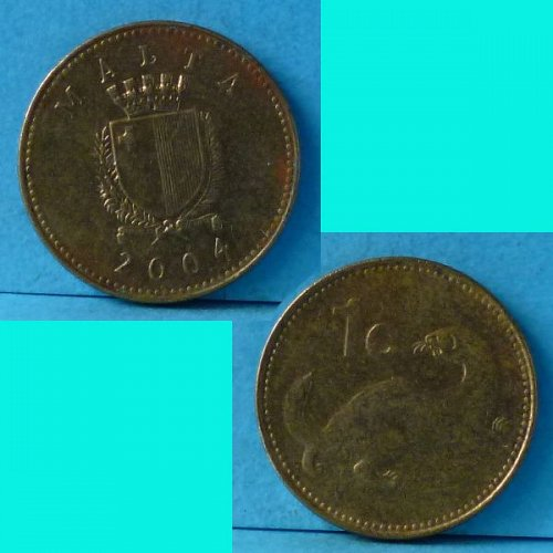 Malta 1 cent 2004 km 78