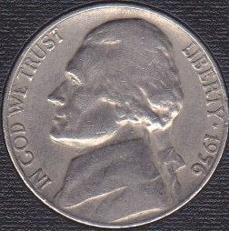 1956 P Jefferson Nickel