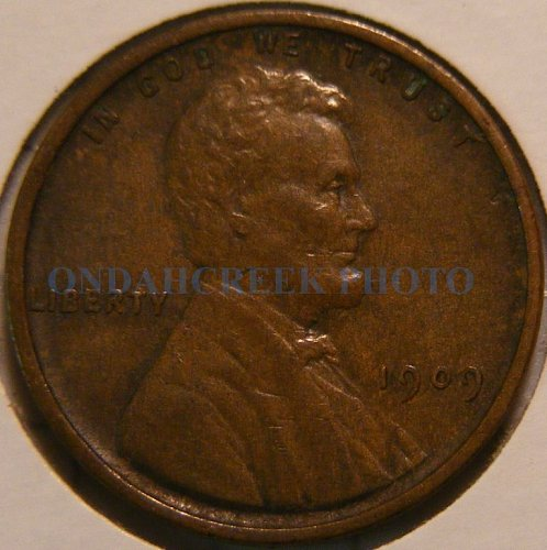 1909 VDB Lincoln Cent Spiked Head Die Crack and Lamination Error