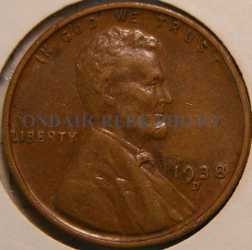 1938-D Lincoln Cent RPM #3 Wexler Best of Variety