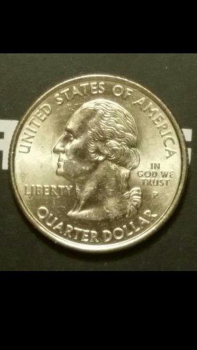 2000-P quarter  (rim error reverse)
