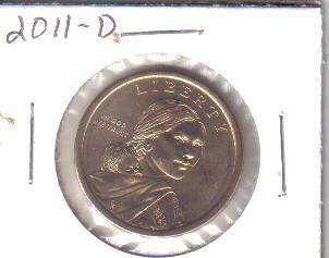 2011  D  SACAGAWEA GOLDEN DOLLAR