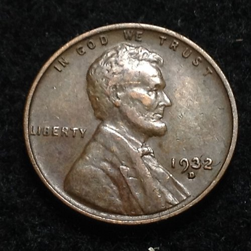 1932 D Lincoln wheat cent
