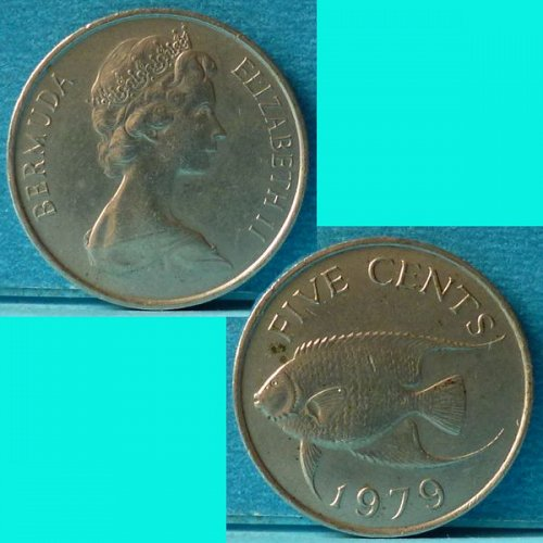 Bermuda 5 Cents 1979 km 16