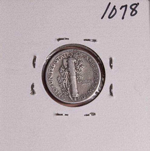 1939 P MERCURY DIME #1078