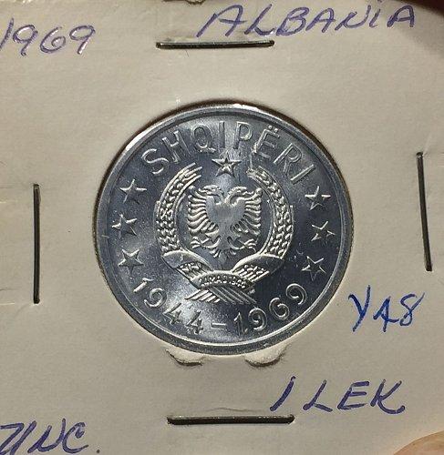 1969 Albania 1 LEK