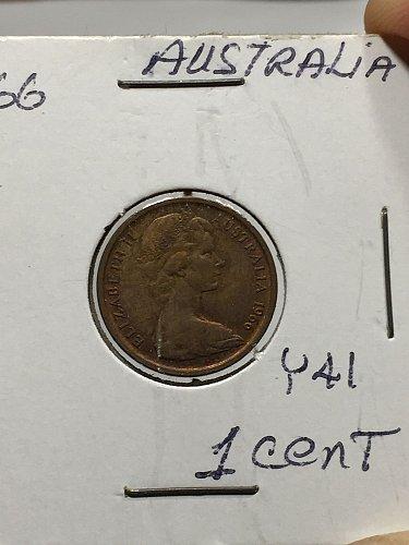 1966 Australia - 1 Cent