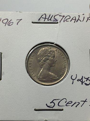 1967 Australia - 5 Cents