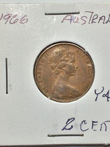 1966 Australia - 2 Cents