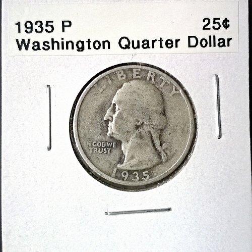 1935 P Washington Quarter Dollar