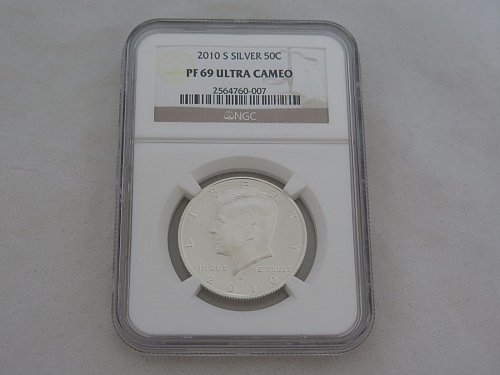 2010 S Kennedy Half Dollar Silver Proof NGC PF69 DCAM