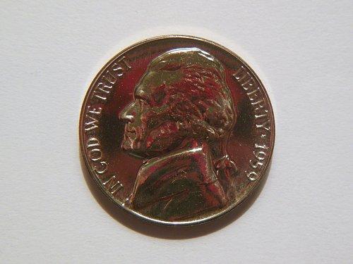 1959-P Jefferson Nickel