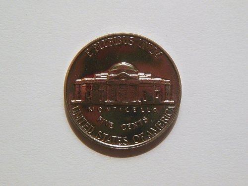 1962-P Jefferson Nickel