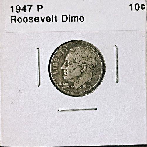 1947 P Roosevelt Dime
