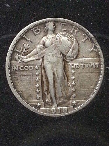 1918 Standing Liberty Quarter
