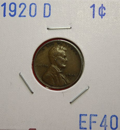 1920 D Lincoln Cent