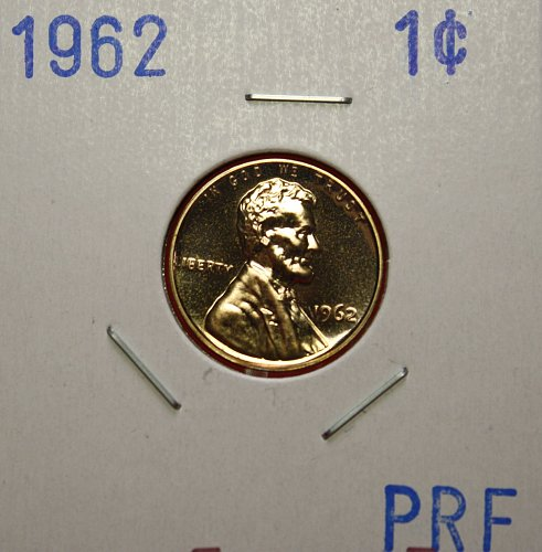 1962 Lincoln Cent ***PROOF***