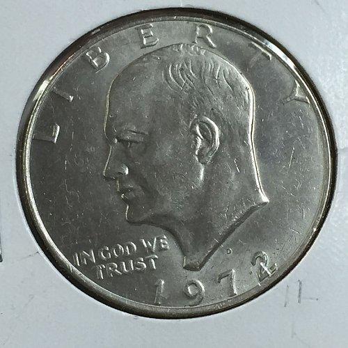 1972-D Eisenhower Dollar (10025)