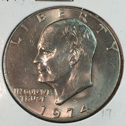 1974-D Eisenhower Dollar (40019)