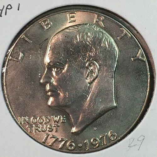 1976-D Type 1 Eisenhower Dollar (40058)
