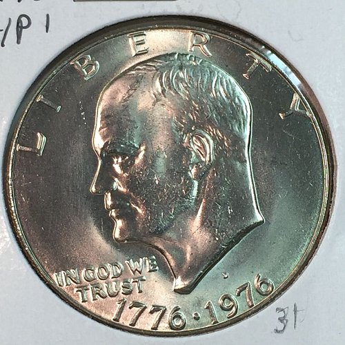 1976-D Type 1 Eisenhower Dollar (40068)