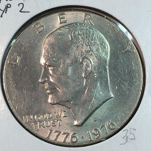 1976-D Type 2 Eisenhower Dollar (40088)