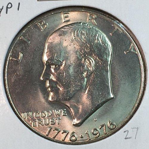1976-D Type 1 Eisenhower Dollar (40039)