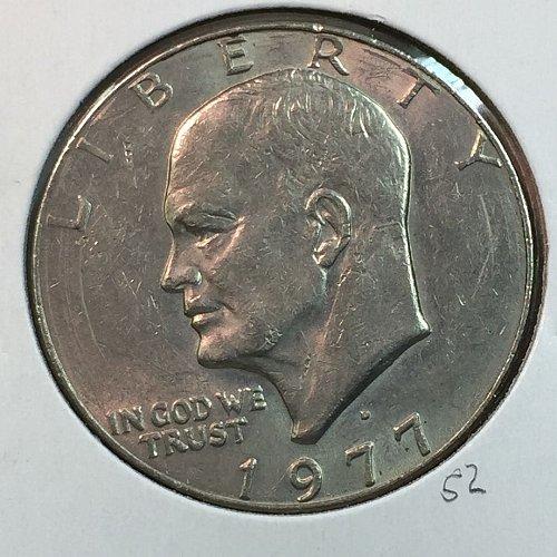 1977-D Eisenhower Dollar (40141)