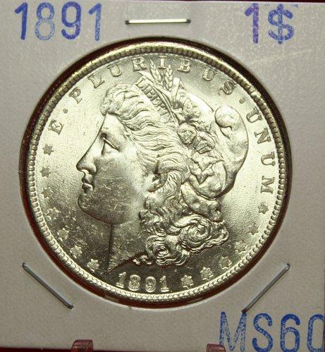 1891 Morgan $1