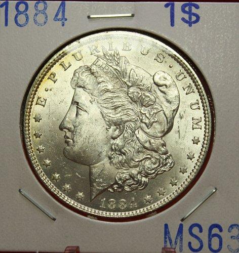 1884 Morgan $1