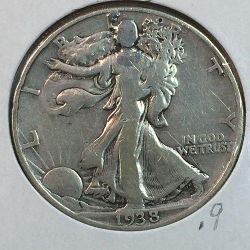 1938-P Walking Liberty Half Dollar (40149)