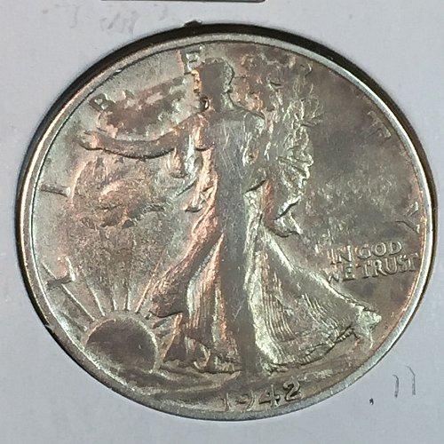 1942-S Walking Liberty Half Dollar (40151)