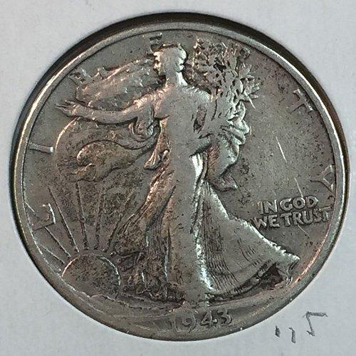 1943-D Walking Liberty Half Dollar (40153)