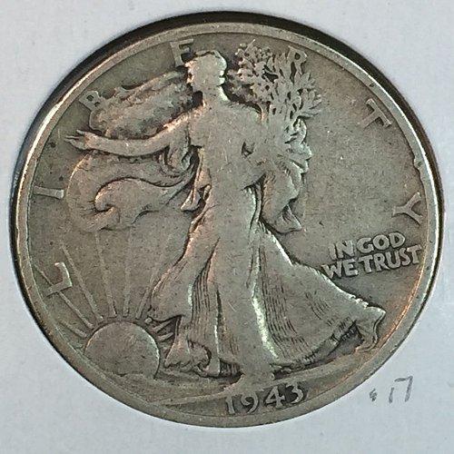 1943-D Walking Liberty Half Dollar (40154)